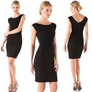 Diane von Furstenberg Black Sheath Jori Dress